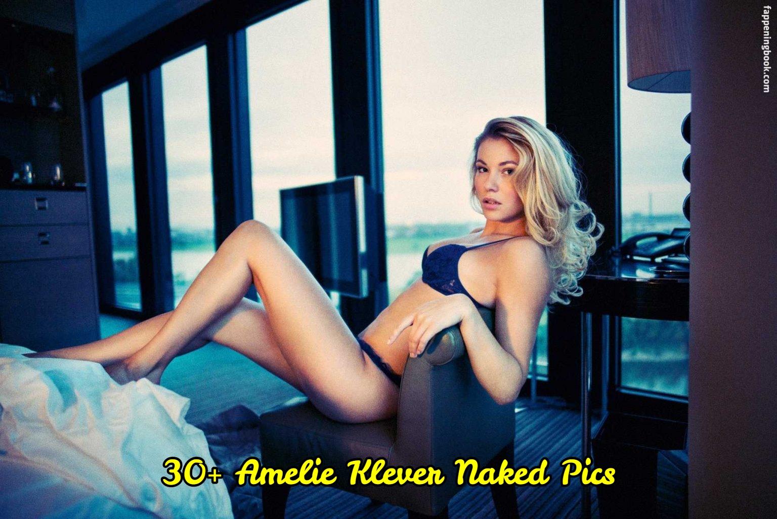 Amelie Klever  nackt