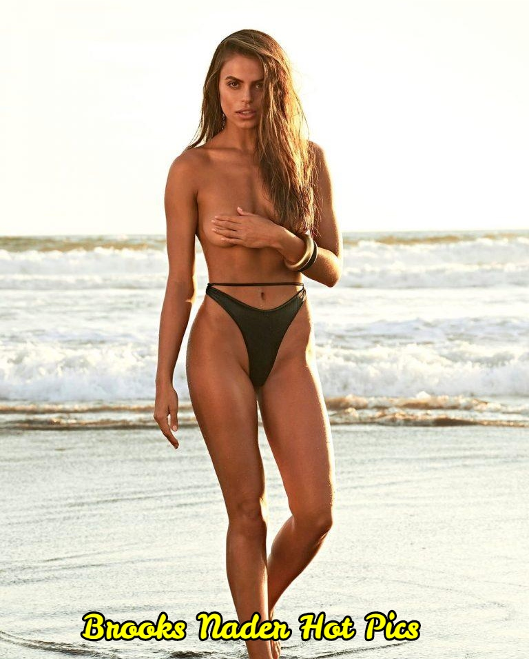 Nader nackt Brooks  SI Swimsuit