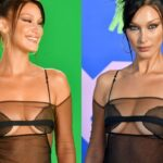 Bella Hadid Looks Fabulous See-through Outfit In VMA (18 Pics) 17
