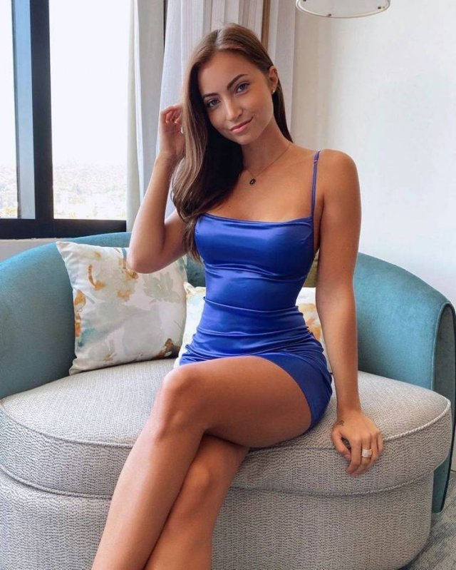 49 Hot Girls In Tight Dresses 27