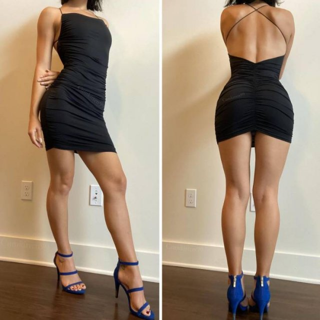 49 Hot Girls In Tight Dresses 32