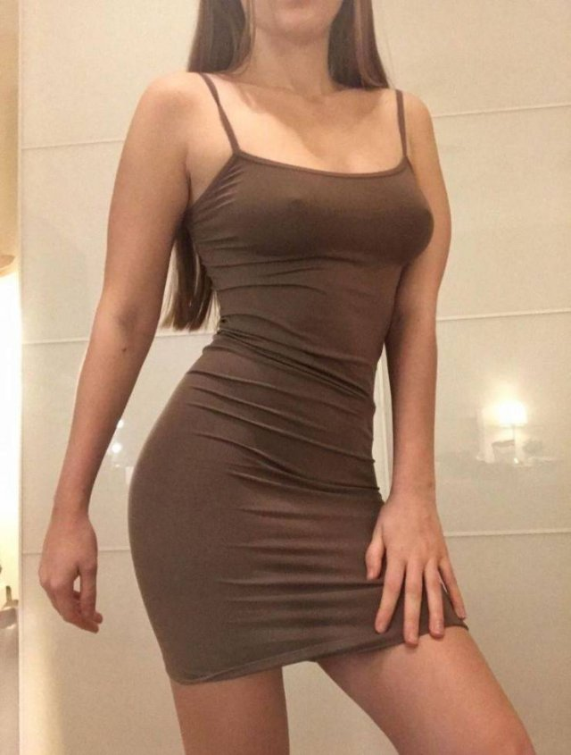 49 Hot Girls In Tight Dresses 5
