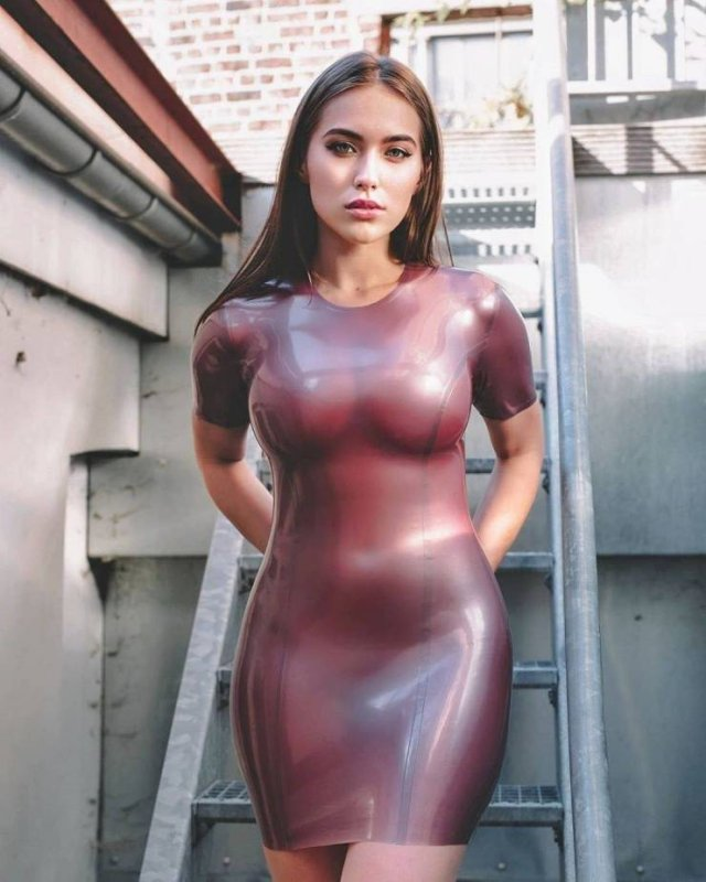 49 Hot Girls In Tight Dresses 7