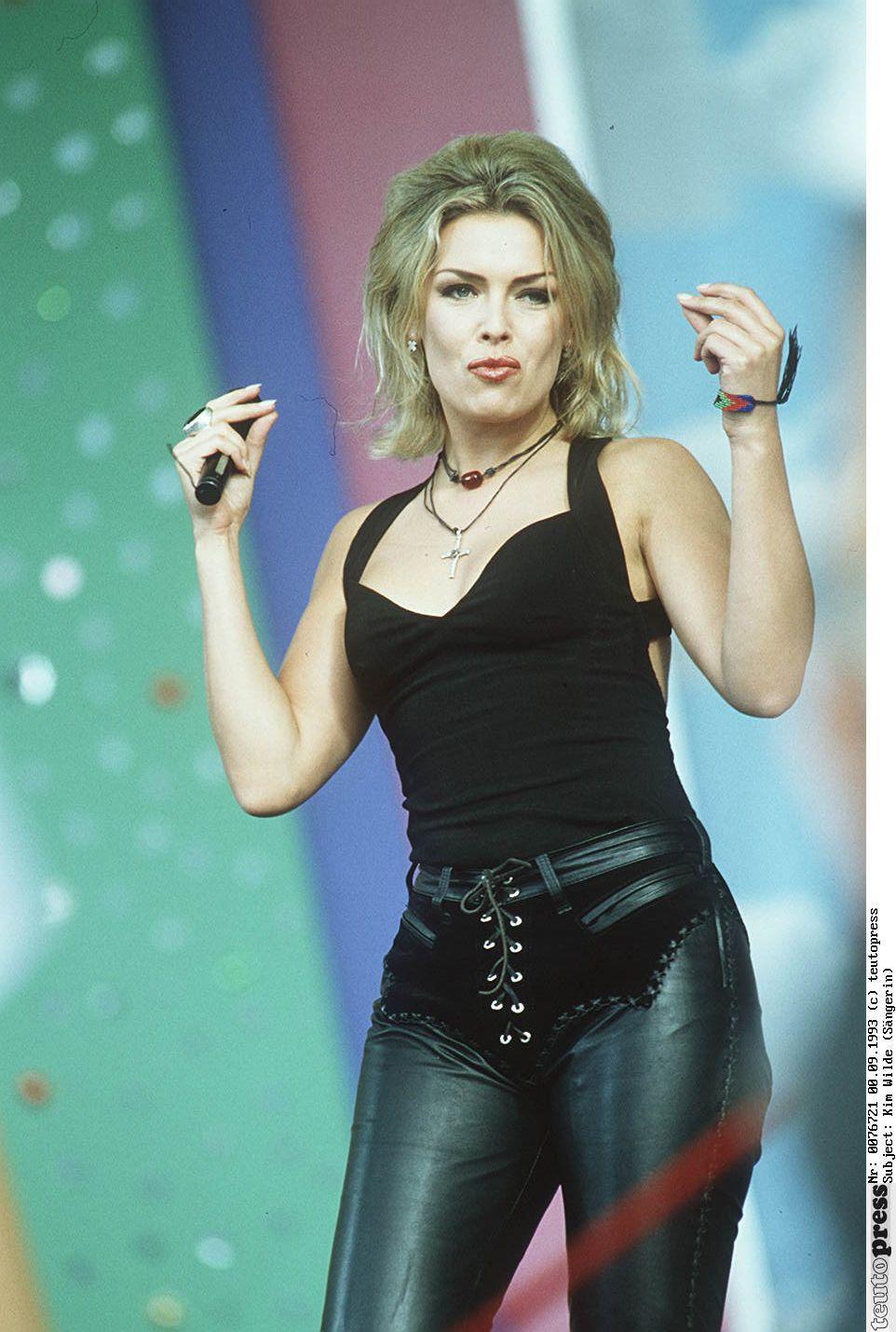 Kim Wilde sexy pics