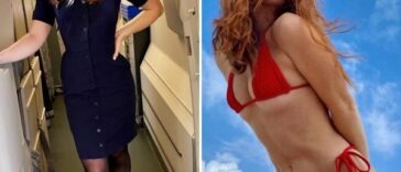 These types gorgeous flight attendants are so excellent above me (32 photos) 53