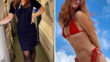 These types gorgeous flight attendants are so excellent above me (32 photos) 39