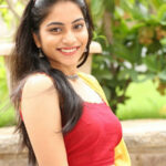 Punarnavi Bhupalam South Indian Cute and Beautiful Actress in Red Dress 15