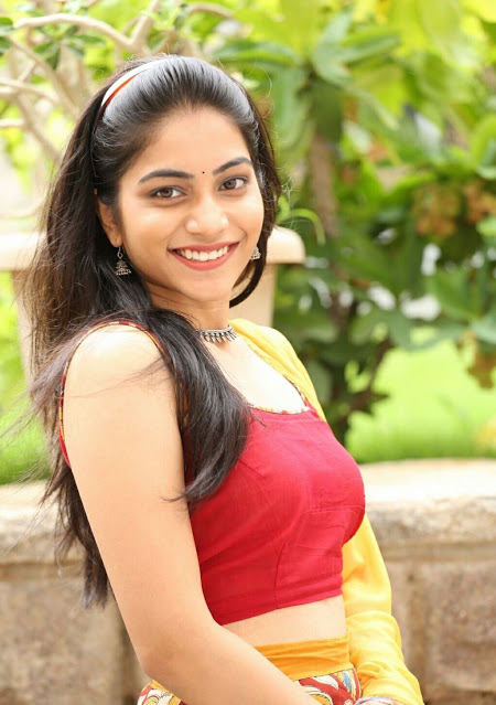 Punarnavi Bhupalam South Indian Cute and Beautiful Actress in Red Dress 1