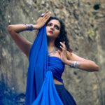 Bollywood Model Radhica Dhuri Hottest Pics In Blue Dress 15