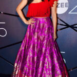 Sophie Choudry In Red Lehenga Choli At Zee TV Event 18